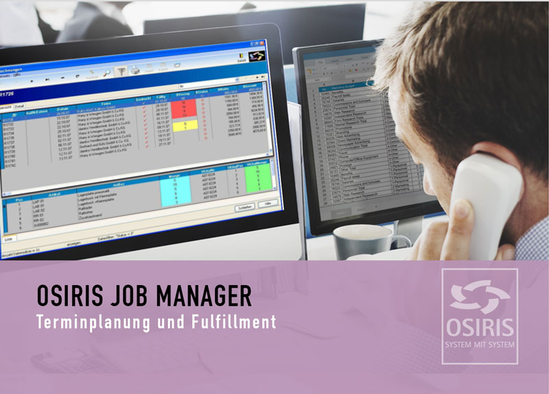 OSIRIS JOB Manager